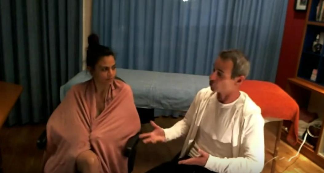 Como dar y recibir un masaje erótico